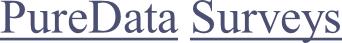 PureData Surveys